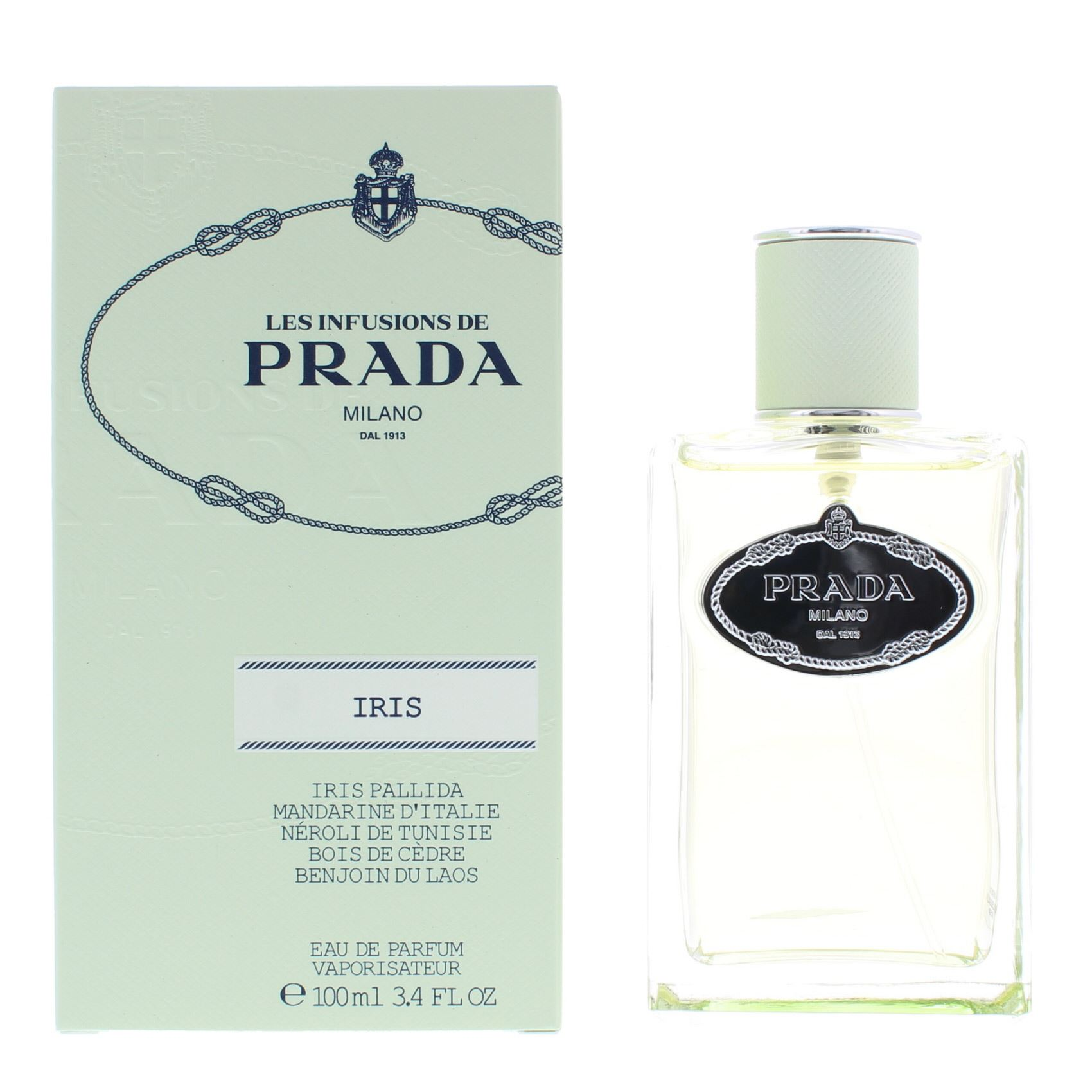 b02ad7aa Details about Prada Infusion d'Iris Eau de Parfum 100ml Spray Women's -  NEW. EDP - For Her