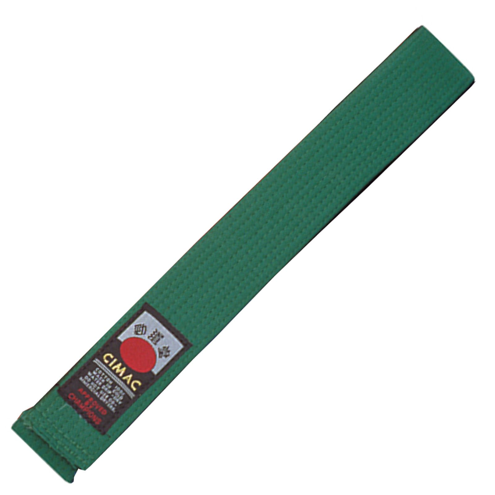 Cimac-Judo-Karate-Taekwondo-Plain-Coloured-Martial-Arts-Belt-UniformVarious-Size thumbnail 12