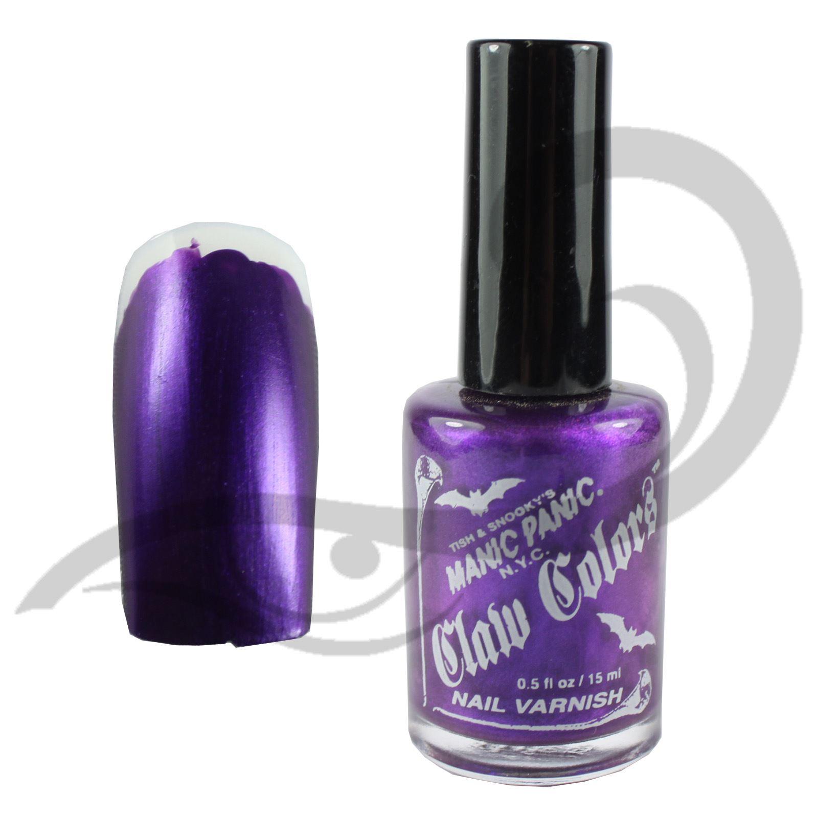 Dorable Purple Panic Nail Polish Photo - Nail Art Design Ideas ...