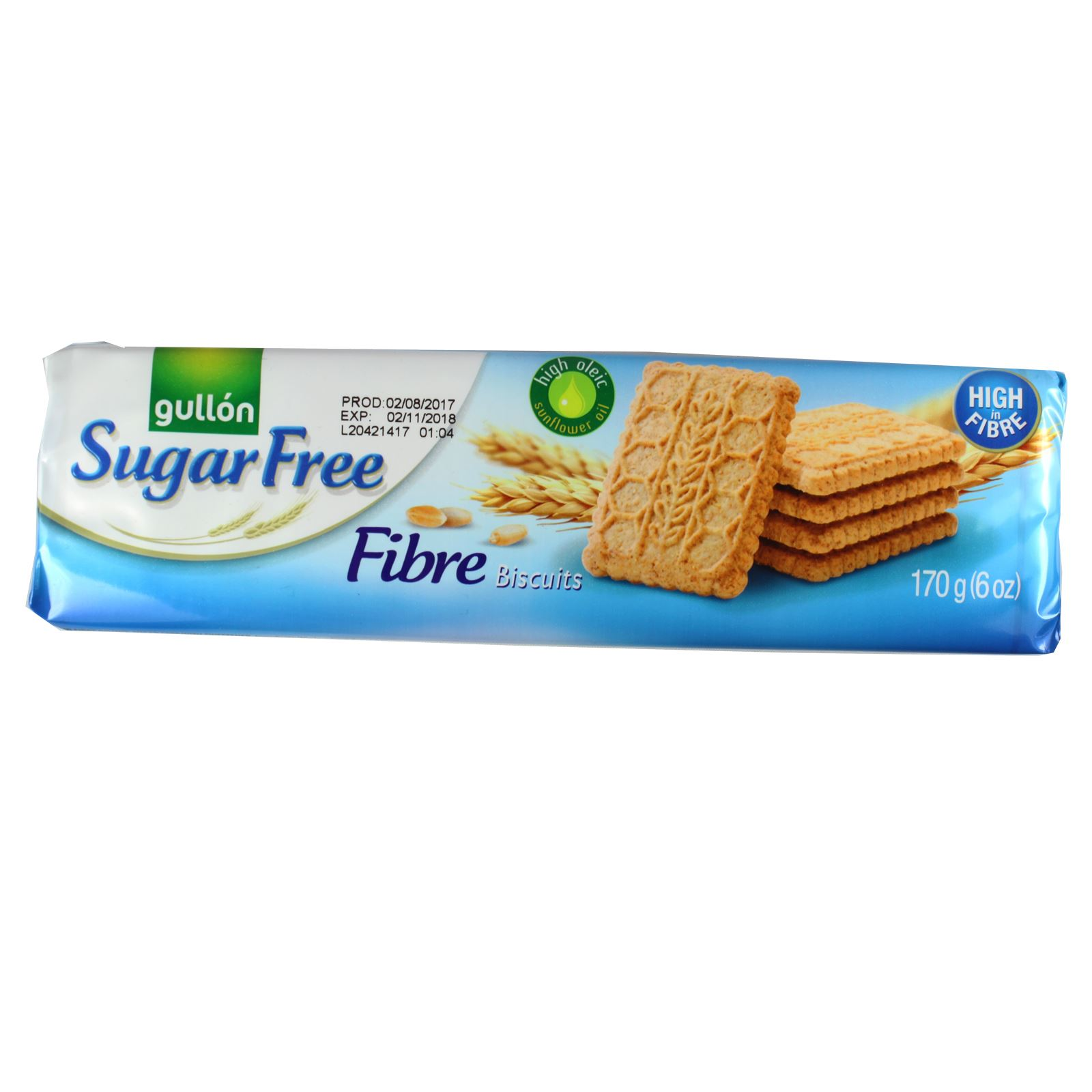 Gullon Sugar Free Diabetic Diet Fibre Biscuits Wafers Mixed Chocolate Digestive
