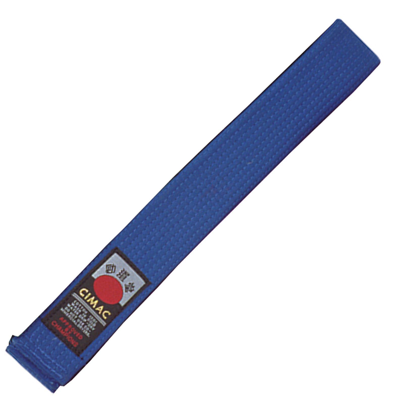 Cimac-Judo-Karate-Taekwondo-Plain-Coloured-Martial-Arts-Belt-UniformVarious-Size thumbnail 7