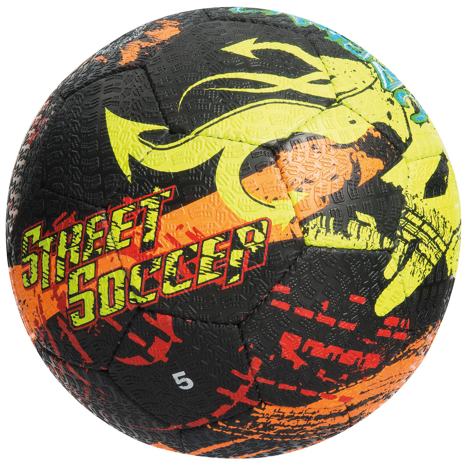 Precision-Street-Vortex-Mania-Hard-Ground-Ball-Street-Rubber-Football-Size-4-5 miniatura 6