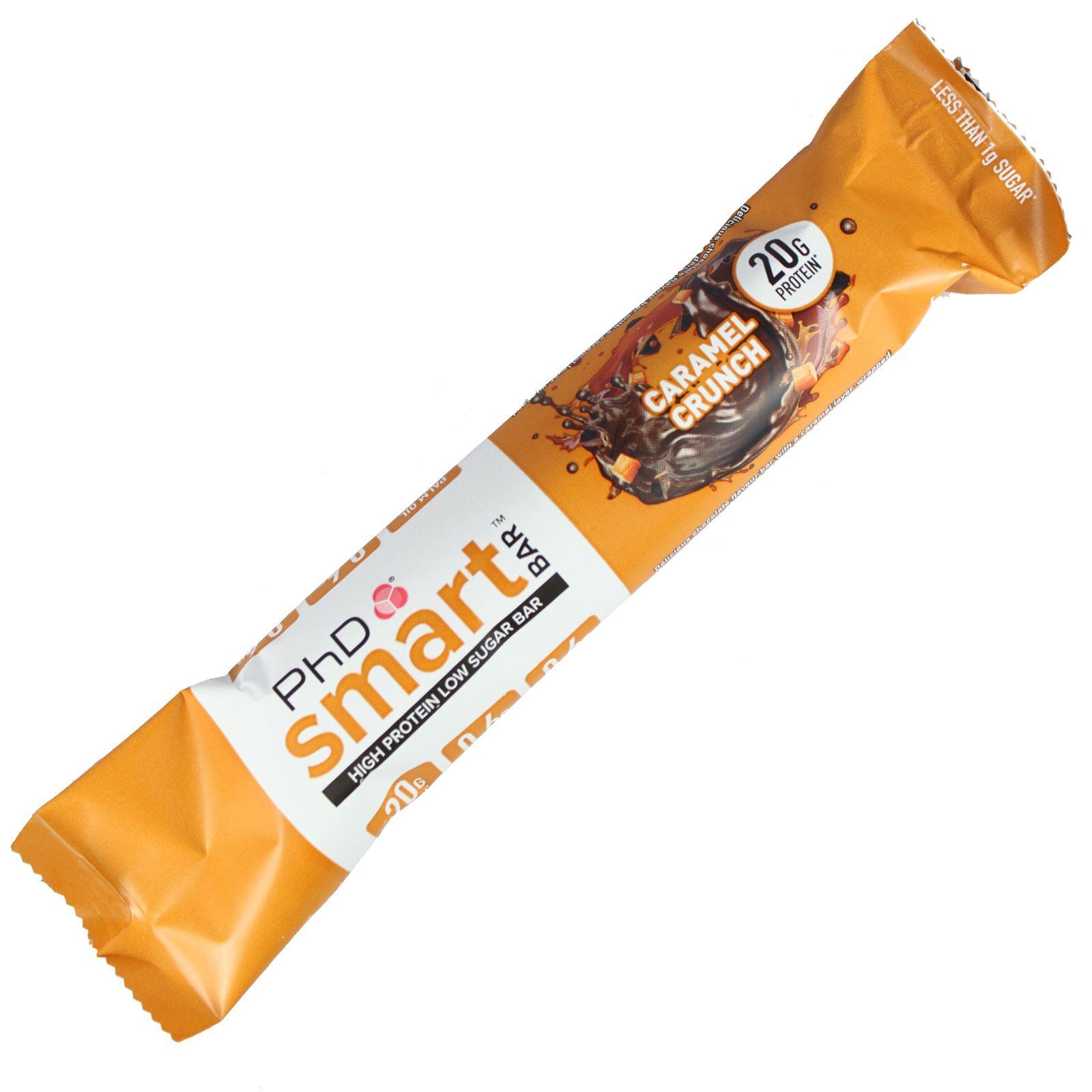 PHD-Nutrition-Box-of-12-Smart-Bar-High-Protein-Low-Sugar-Individual-amp-Mixed-Box thumbnail 6