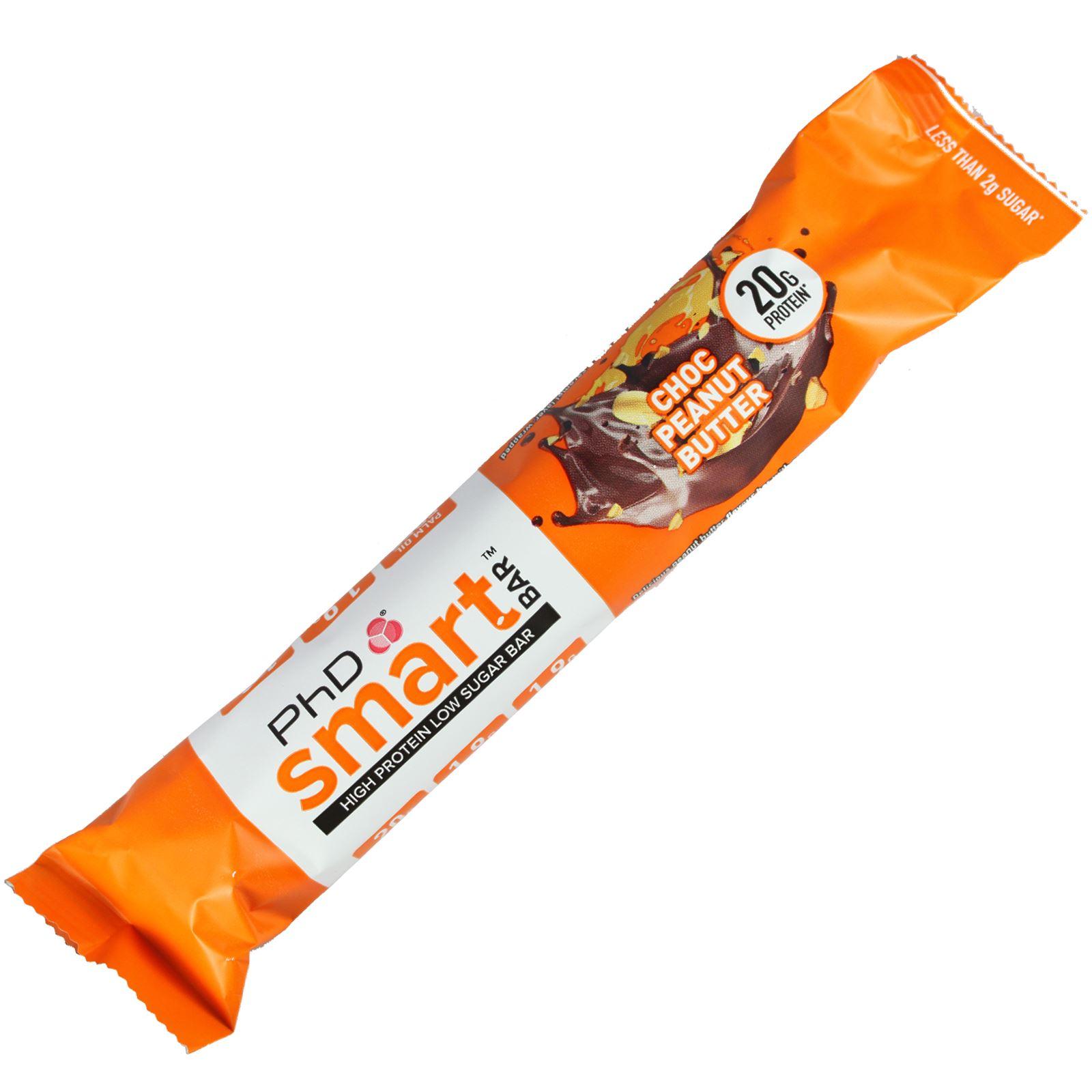 PHD-Nutrition-Box-of-12-Smart-Bar-High-Protein-Low-Sugar-Individual-amp-Mixed-Box thumbnail 10