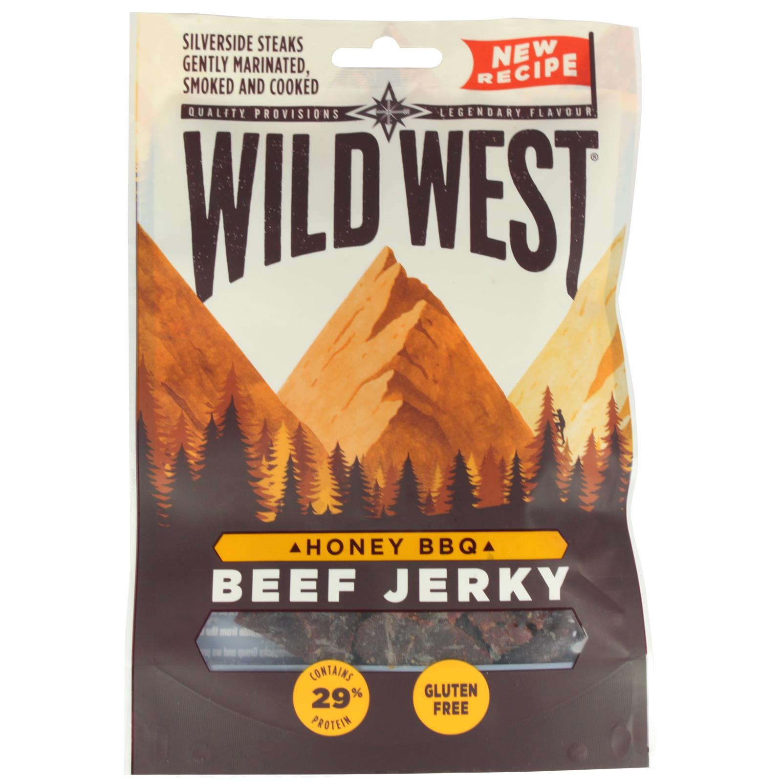 Wild-West-Beef-Jerky-All-Flavours-Mixed-Packs-Gluten-Free-High-Protein-Snack miniatura 3