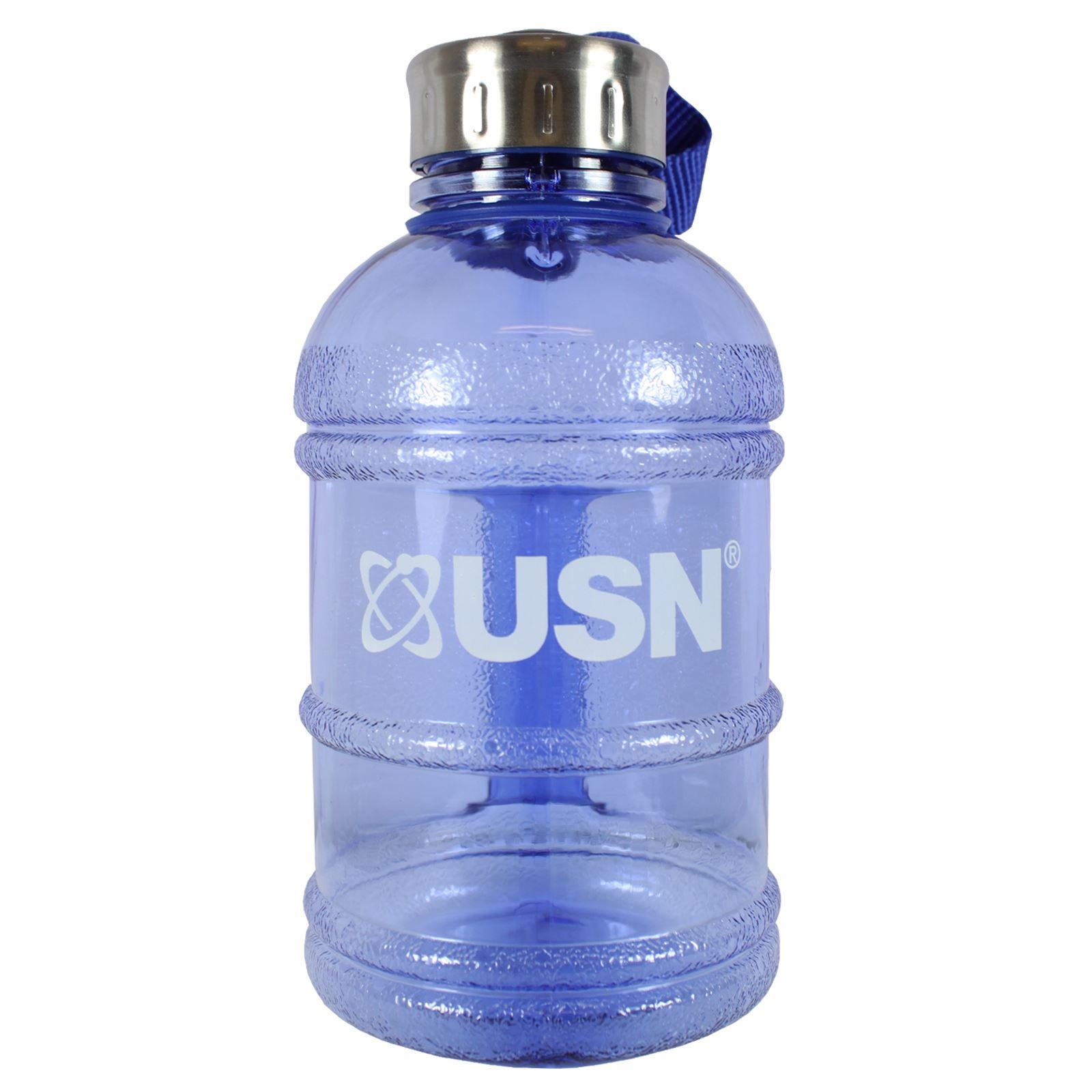 BPA Free Black Blue Pink USN Gym Water Jug 2.2 Litres//Half Gallon /& 1 Litre