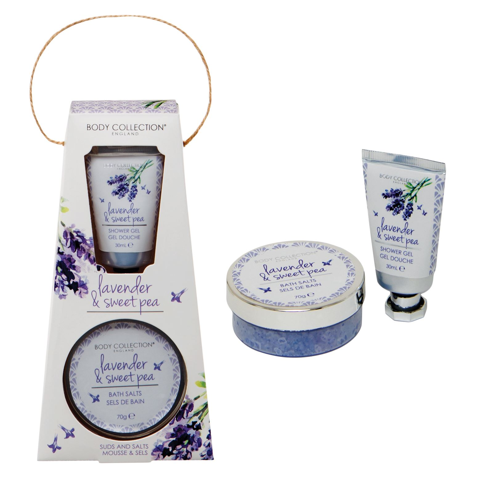 Body Collection Ladies Bath Bomb Pamper Gift Sets Lavender The Shop Strawberry 28g