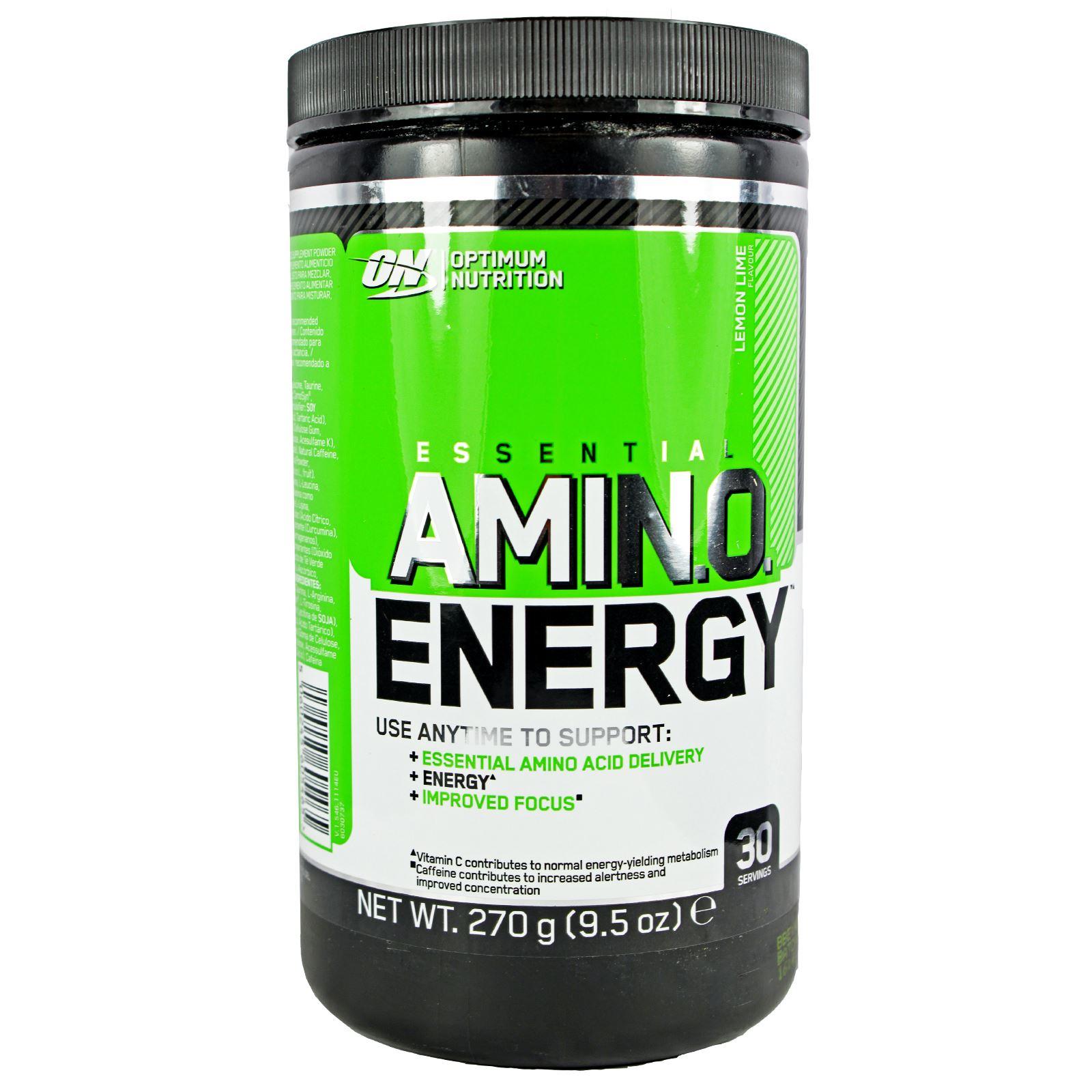 Optimum Nutrition Essential Amino Energy 270g Amino Acid