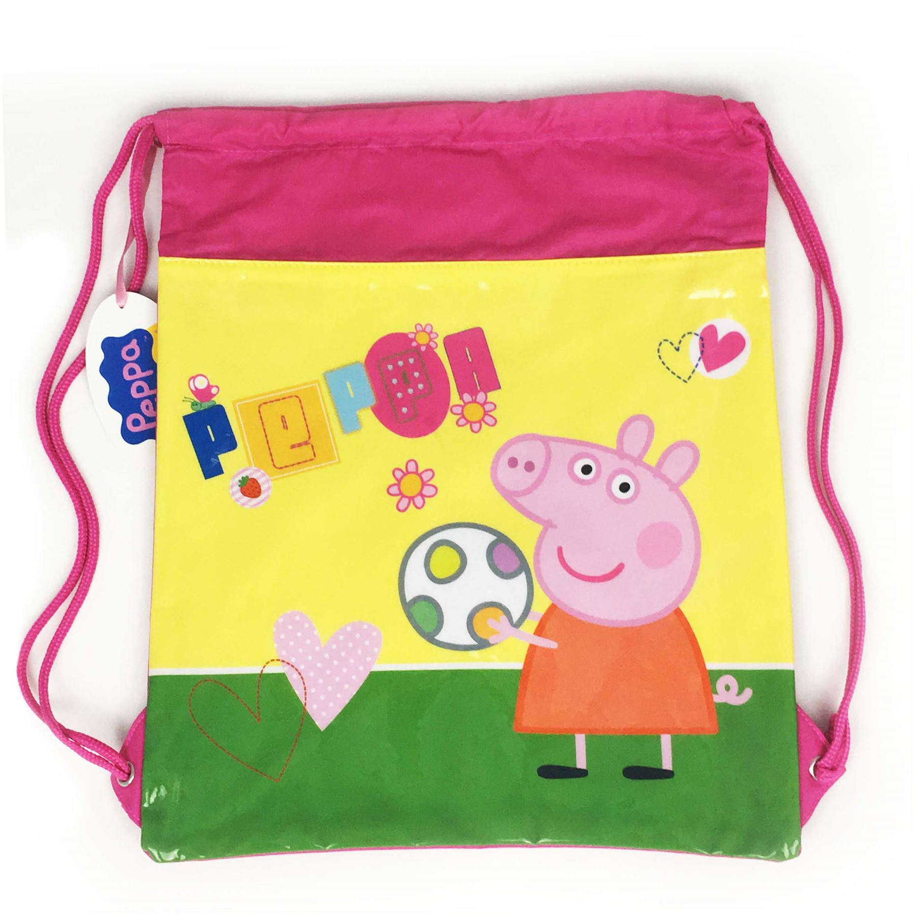 Peppa Pig George Pig Boys 3D Drawstring Gym Bag