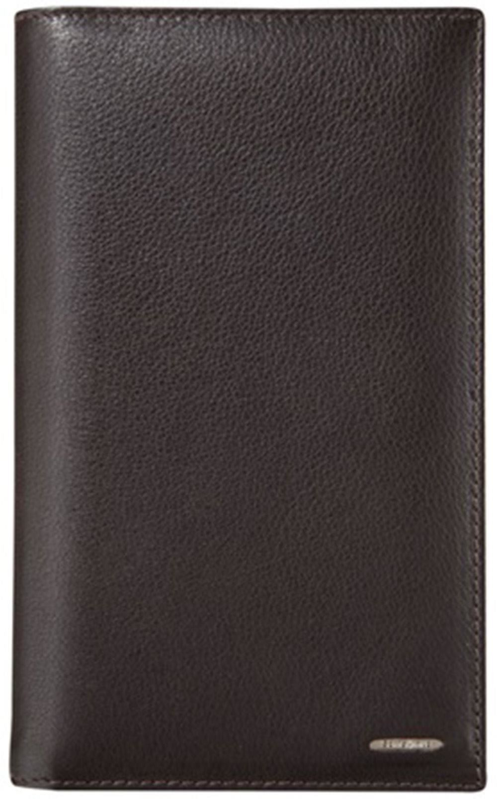 SAMSONITE NYX II MEDIUM BROWN COWHIDE LEATHER BUSINESS CARD HOLDER ...