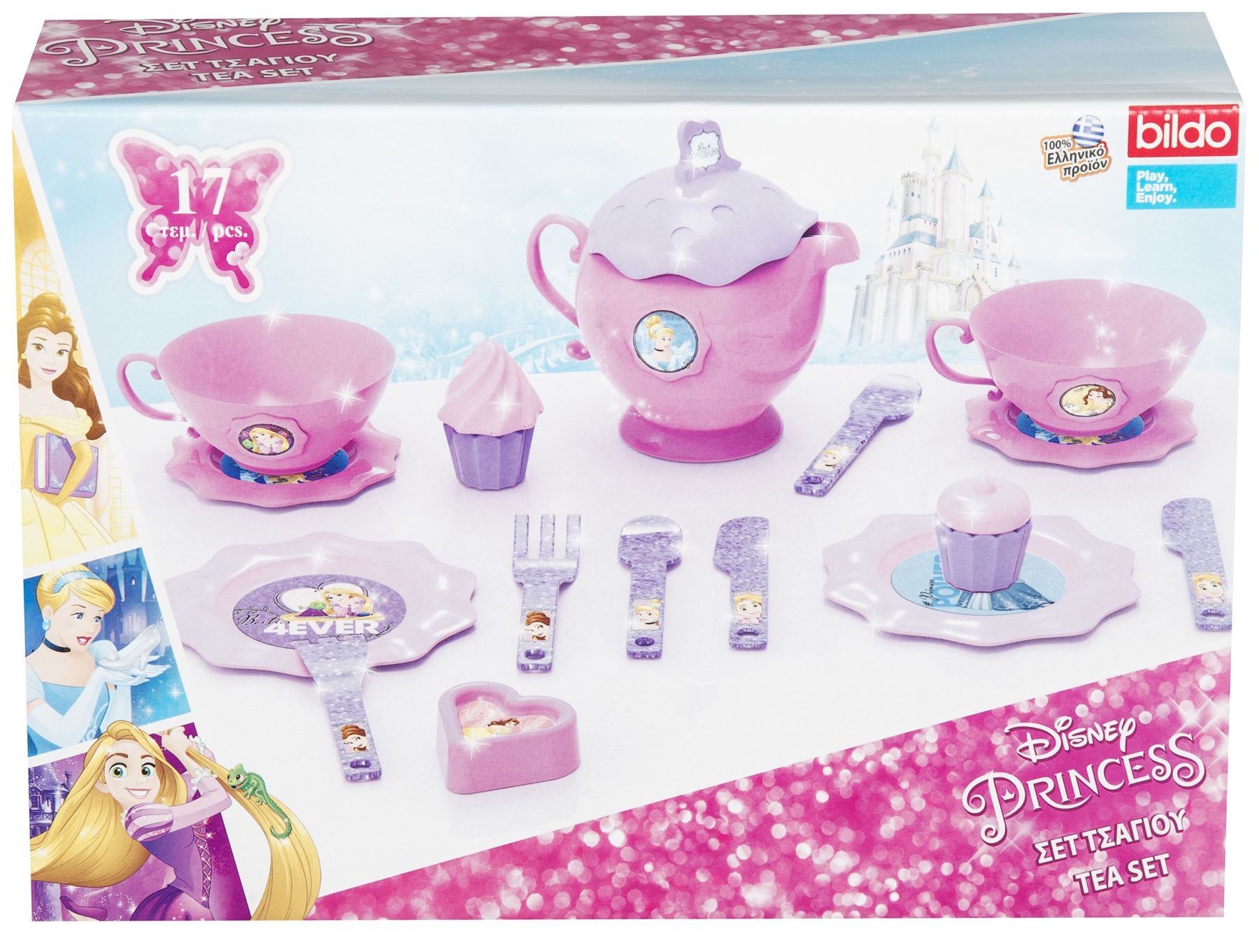 Disney Minnie Mouse Chair & Frozen Kitchen Tea Set Beauty Set Toy ...