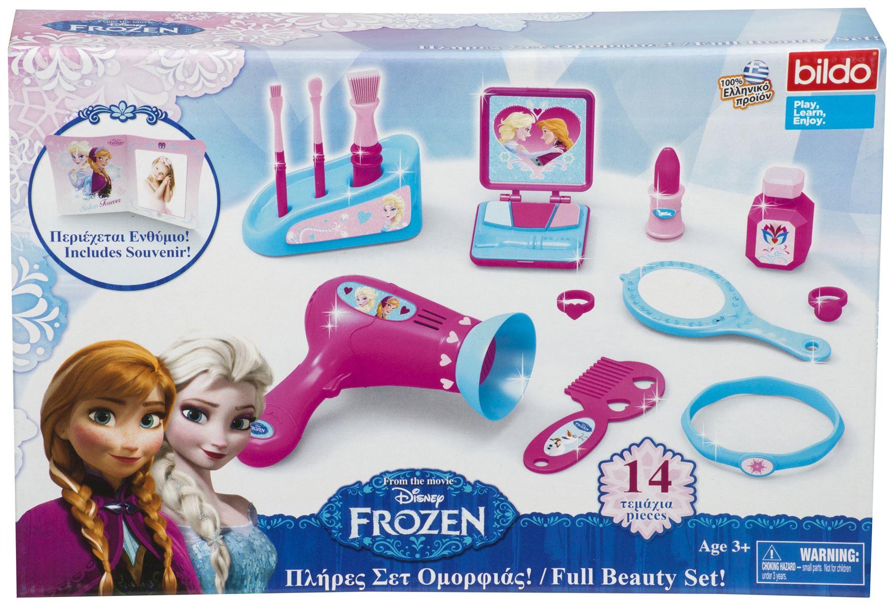 Disney Minnie Mouse Chair & Frozen Kitchen Tea Set Beauty Set Toy ...