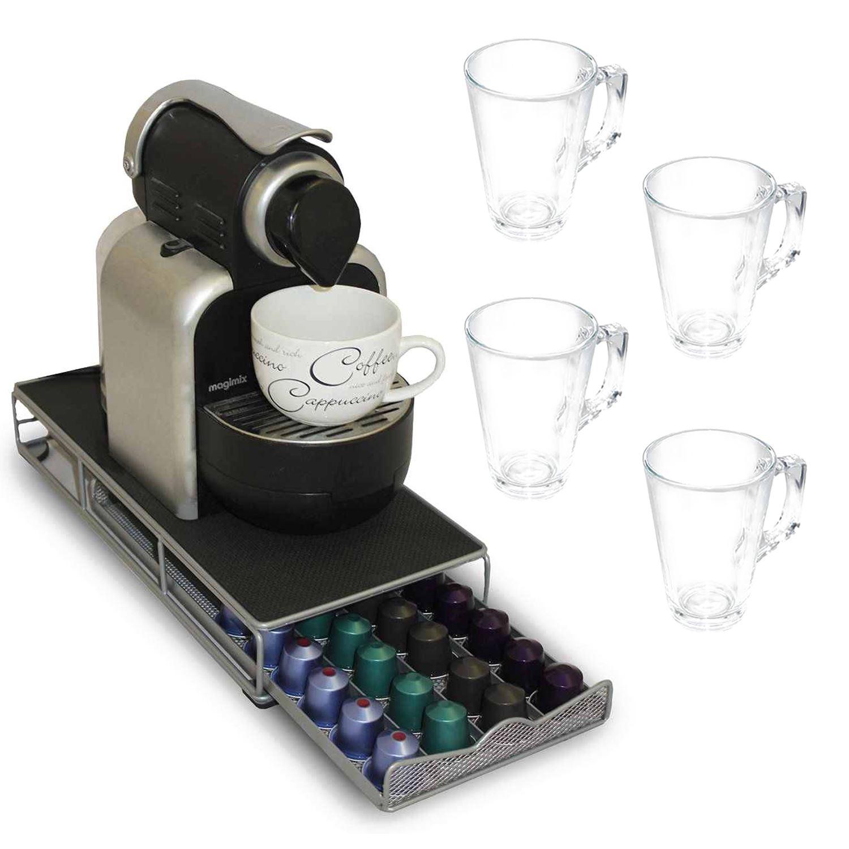 48 Pod Nespresso Coffee Capsule Holder Stand Storage