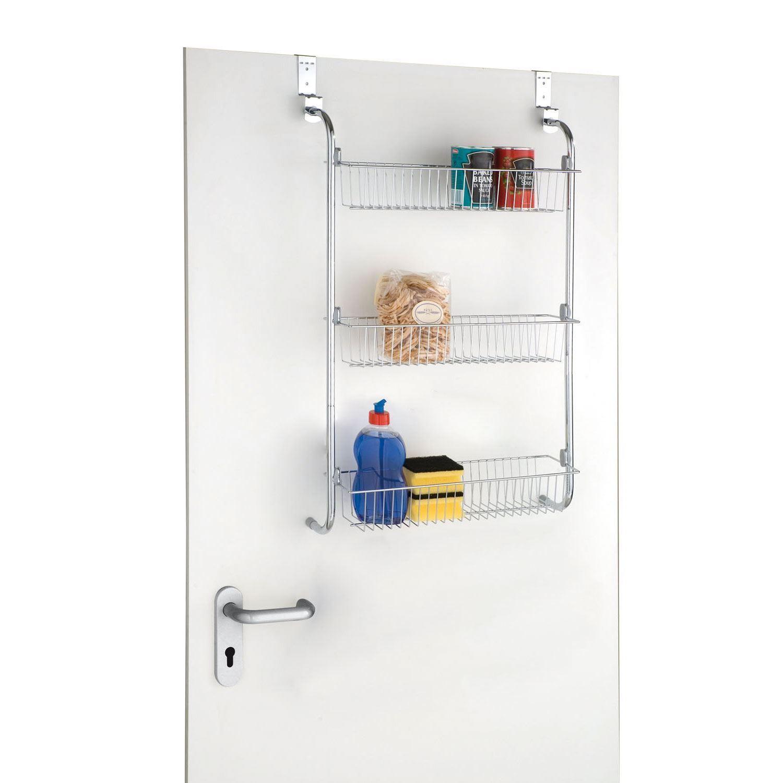 3 4 Tier Over Door Hanging Food Cupboard Storage Spice