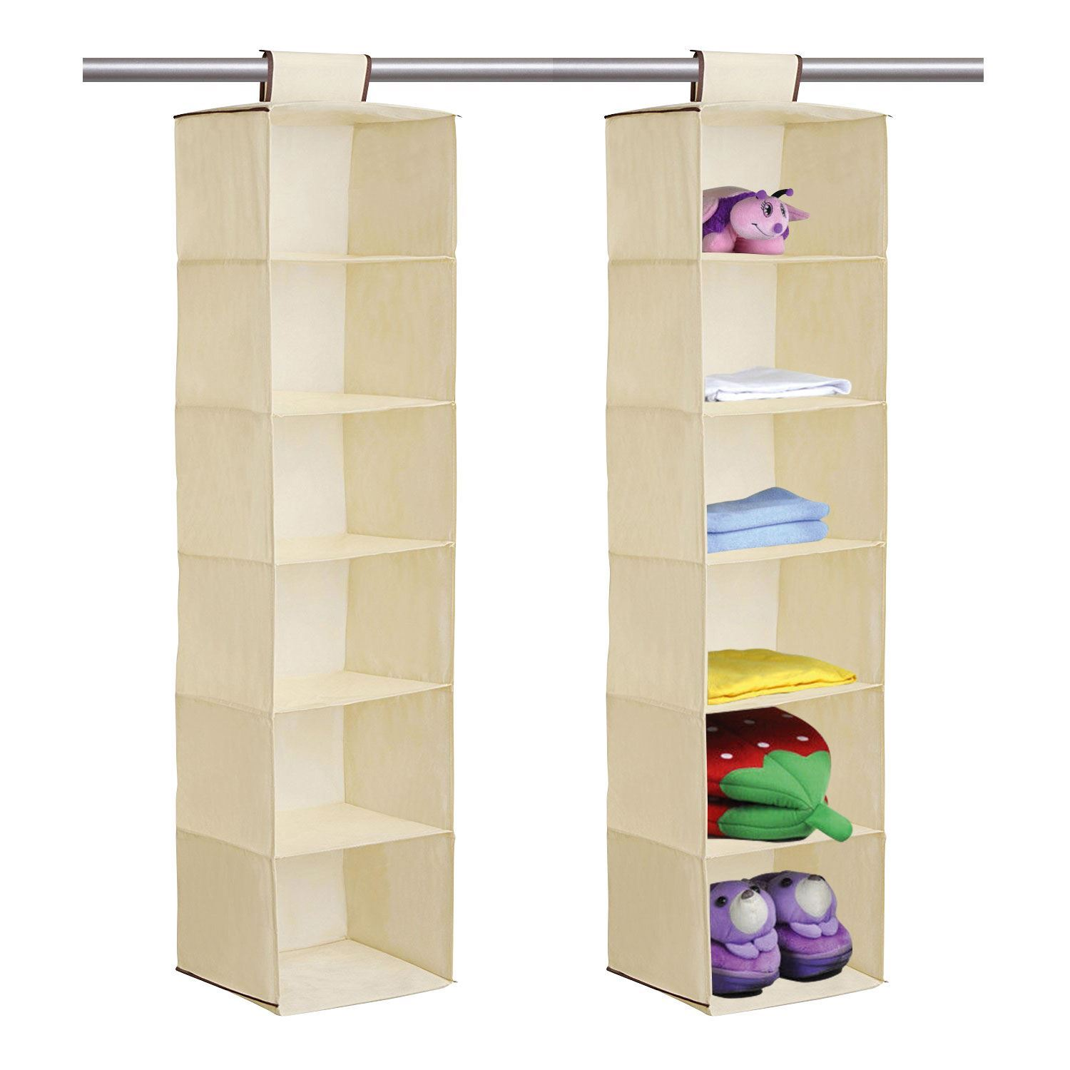 accessory storage hanging clothes with wardrobe and black collapsible for gift organizer closet maidmax shelves shoes product widen shelf velcros