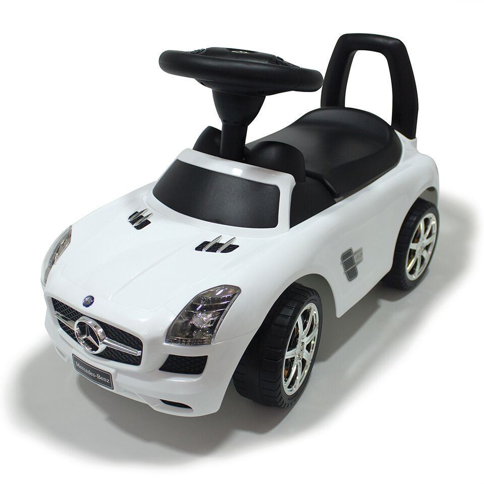 kids push along ride on mercedes benz sls