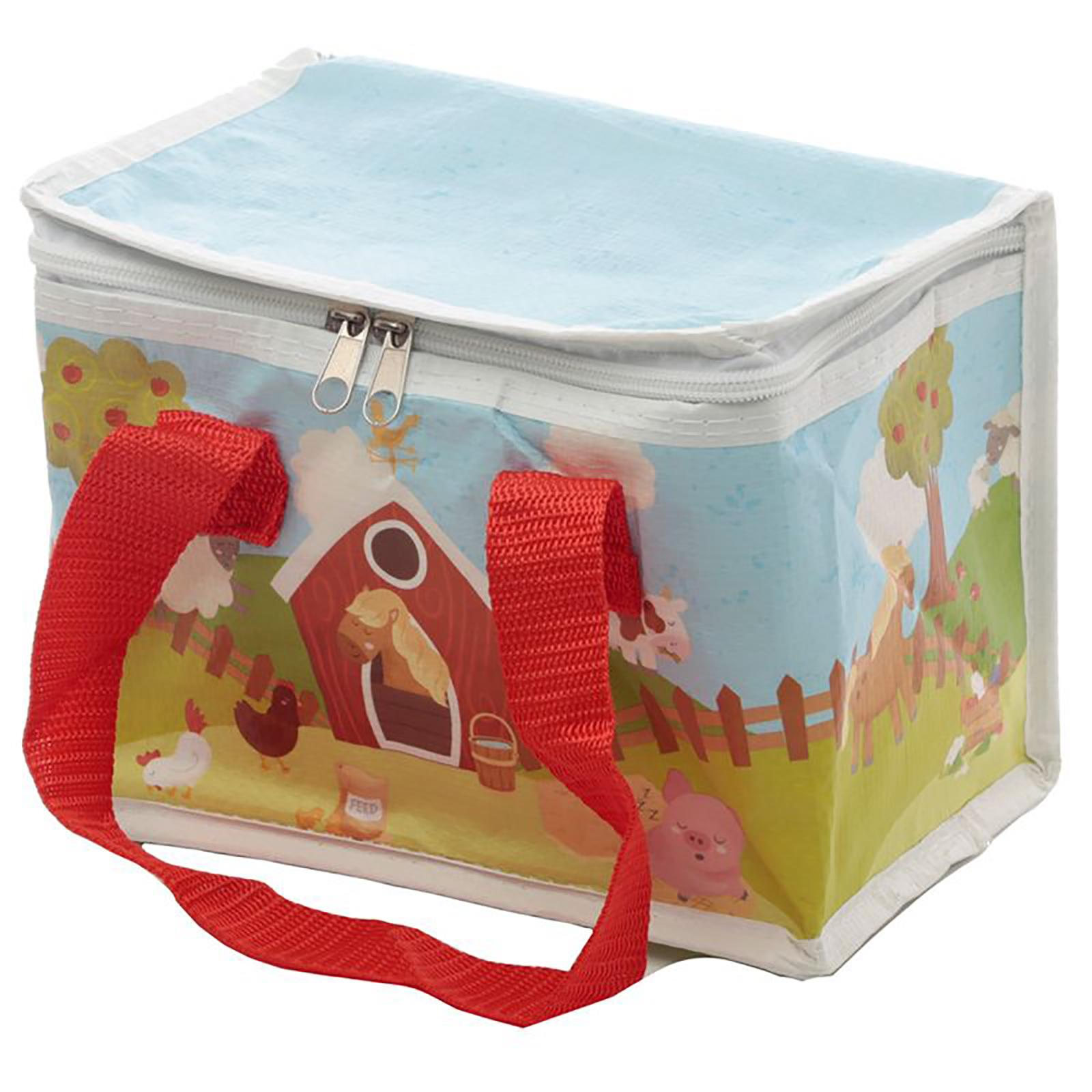 Cool-Bag-School-Picnic-Lunch-Box-Insulated-Small-Thermal-Cooler-Novelty-5-Litre miniatura 26