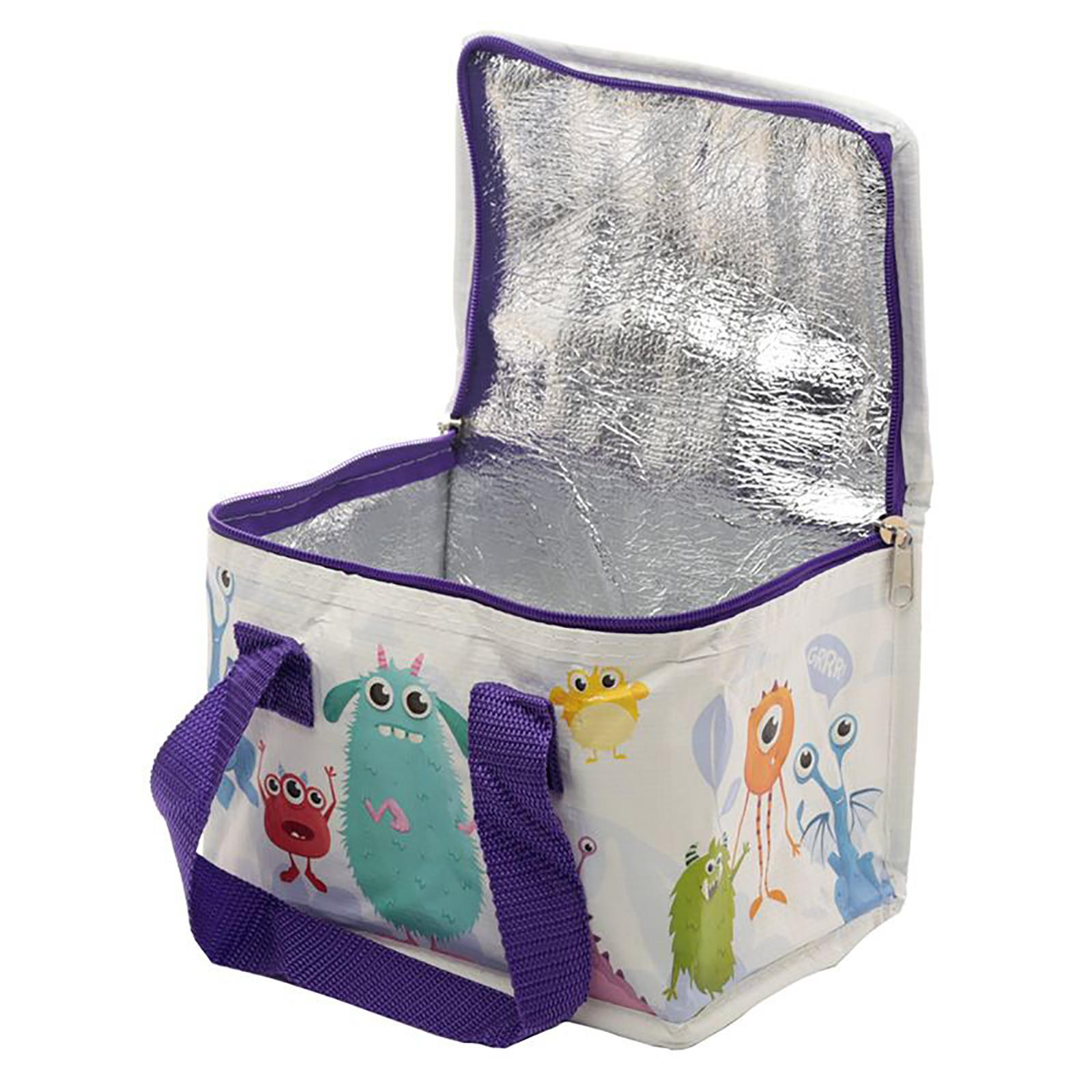 Cool-Bag-School-Picnic-Lunch-Box-Insulated-Small-Thermal-Cooler-Novelty-5-Litre miniatura 84