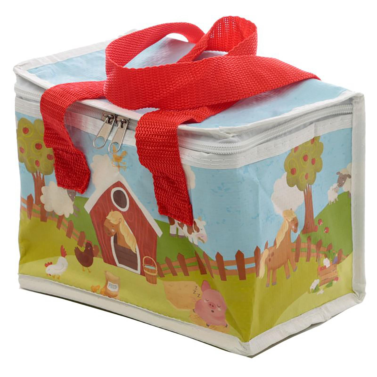 Cool-Bag-School-Picnic-Lunch-Box-Insulated-Small-Thermal-Cooler-Novelty-5-Litre miniatura 24