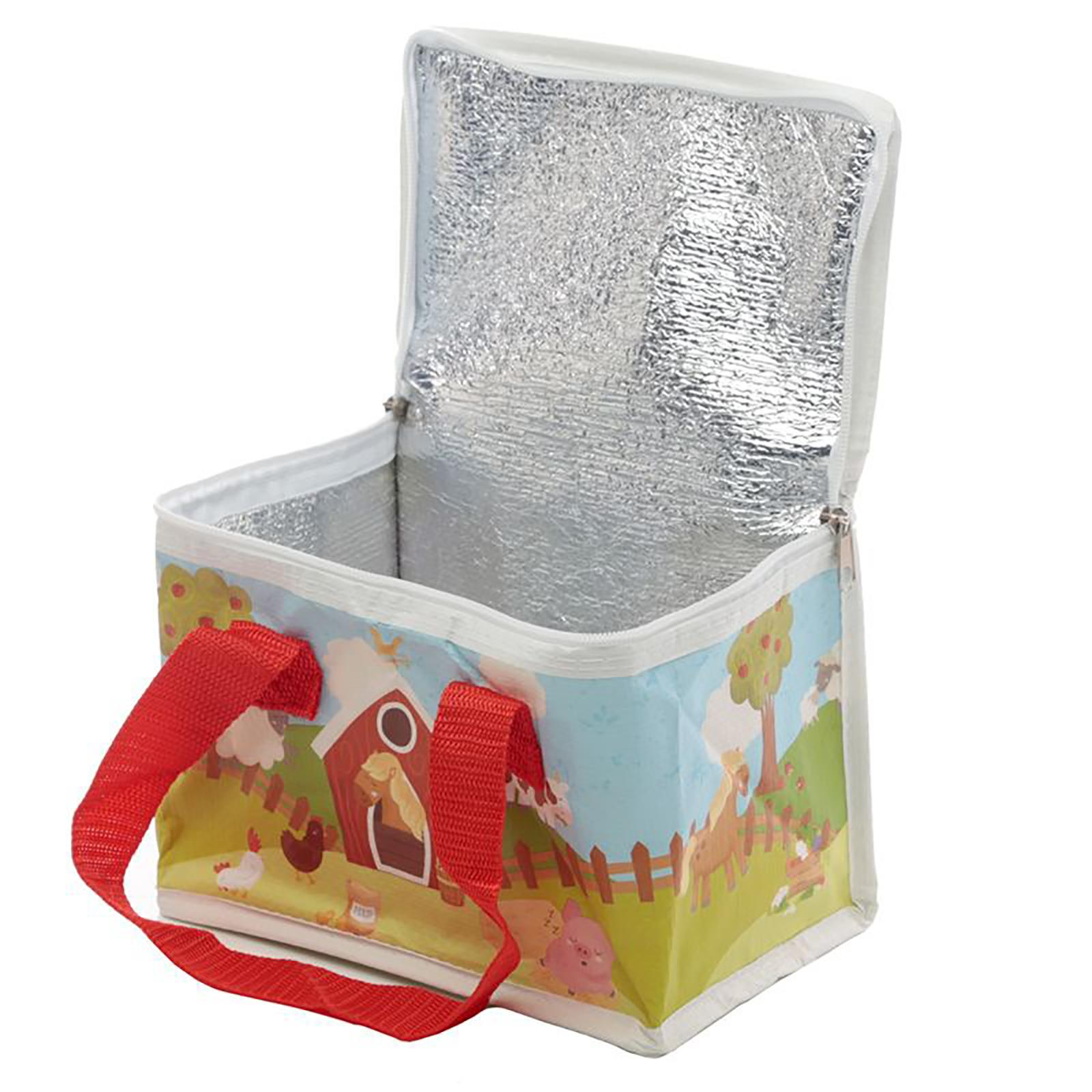 Cool-Bag-School-Picnic-Lunch-Box-Insulated-Small-Thermal-Cooler-Novelty-5-Litre miniatura 27