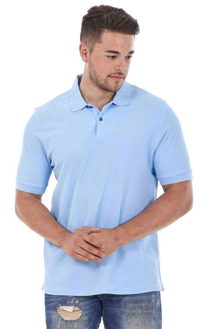 Men-039-s-ex-faMouS-store-Pure-Cotton-Plain-Top-Short-Sleeve-Polo-Tee-T-Shirt thumbnail 80