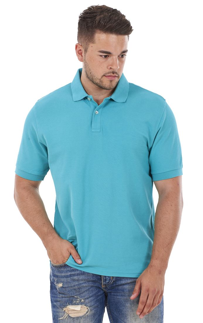 Men-039-s-ex-faMouS-store-Pure-Cotton-Plain-Top-Short-Sleeve-Polo-Tee-T-Shirt thumbnail 33