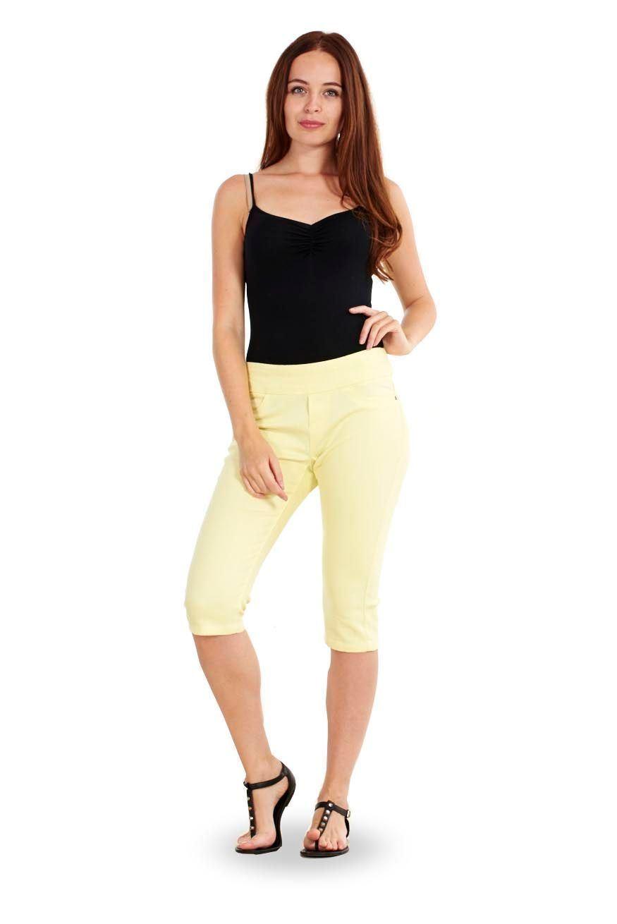 fd08834518591 Sentinel Ladies Cropped Trousers Purple Womens Crops Orange 3 4 Capri Grey  Pants Yellow