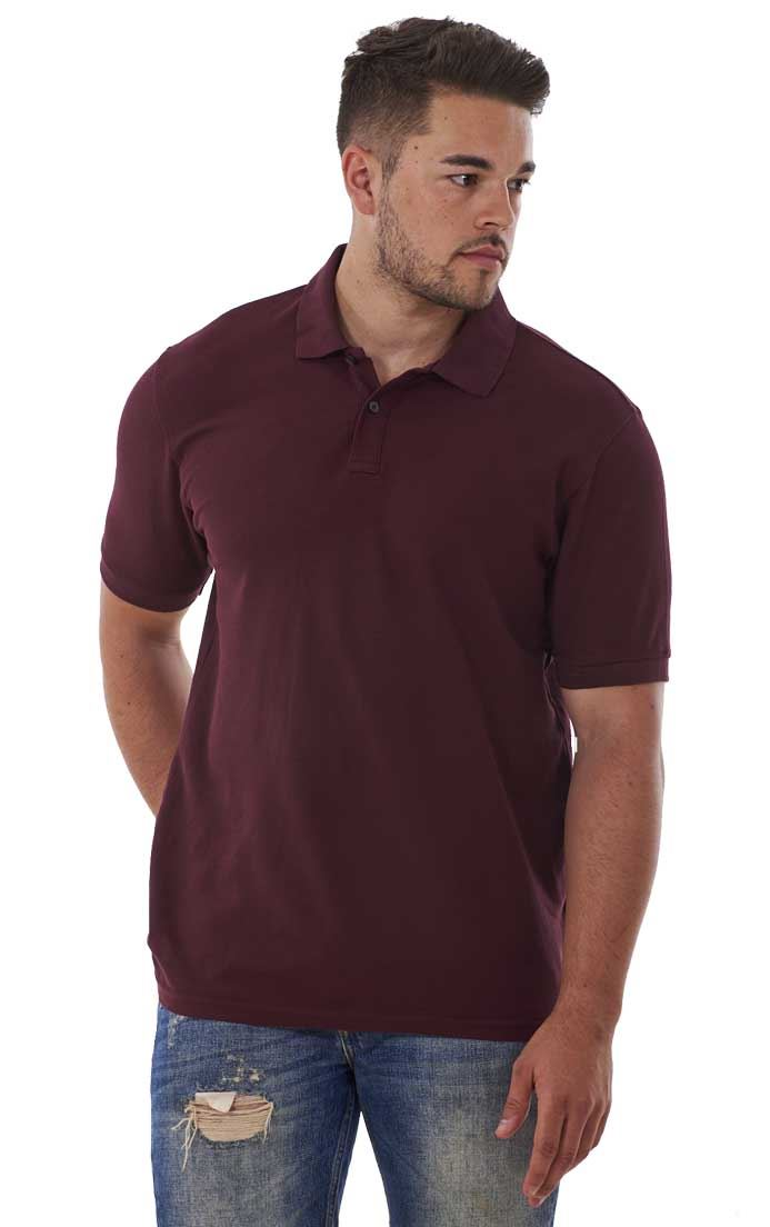 Men-039-s-ex-faMouS-store-Pure-Cotton-Plain-Top-Short-Sleeve-Polo-Tee-T-Shirt thumbnail 17