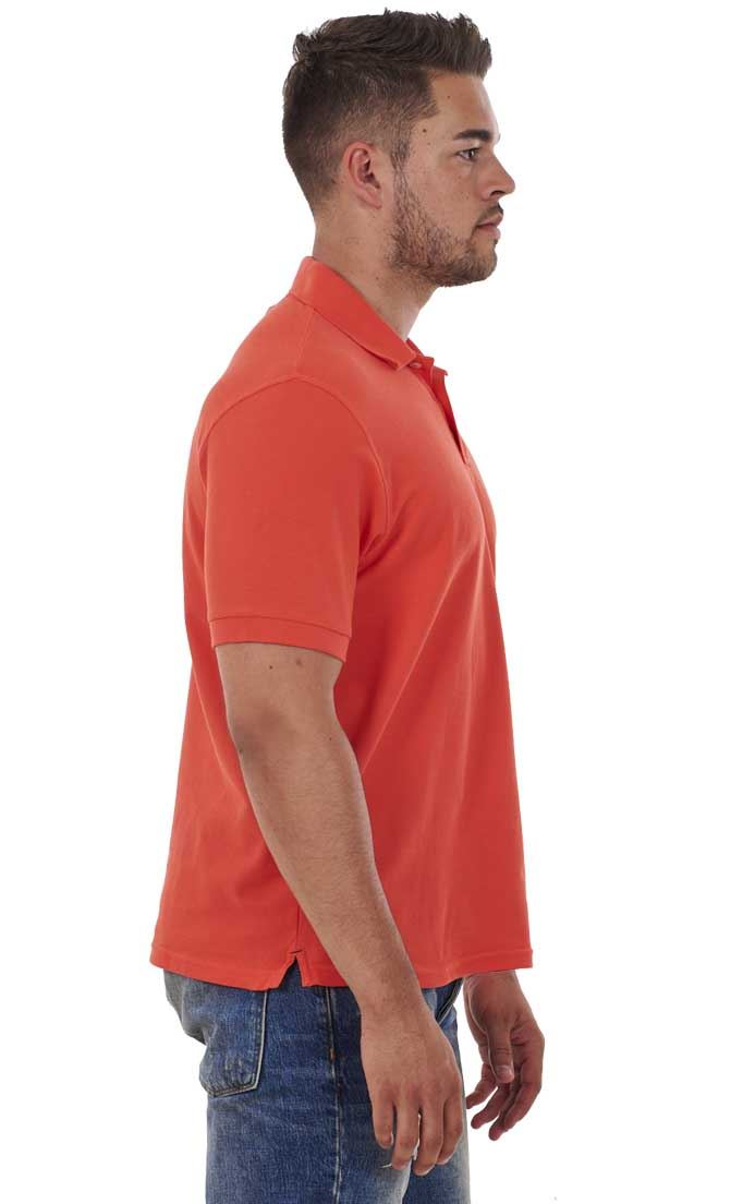 Men-039-s-ex-faMouS-store-Pure-Cotton-Plain-Top-Short-Sleeve-Polo-Tee-T-Shirt thumbnail 30
