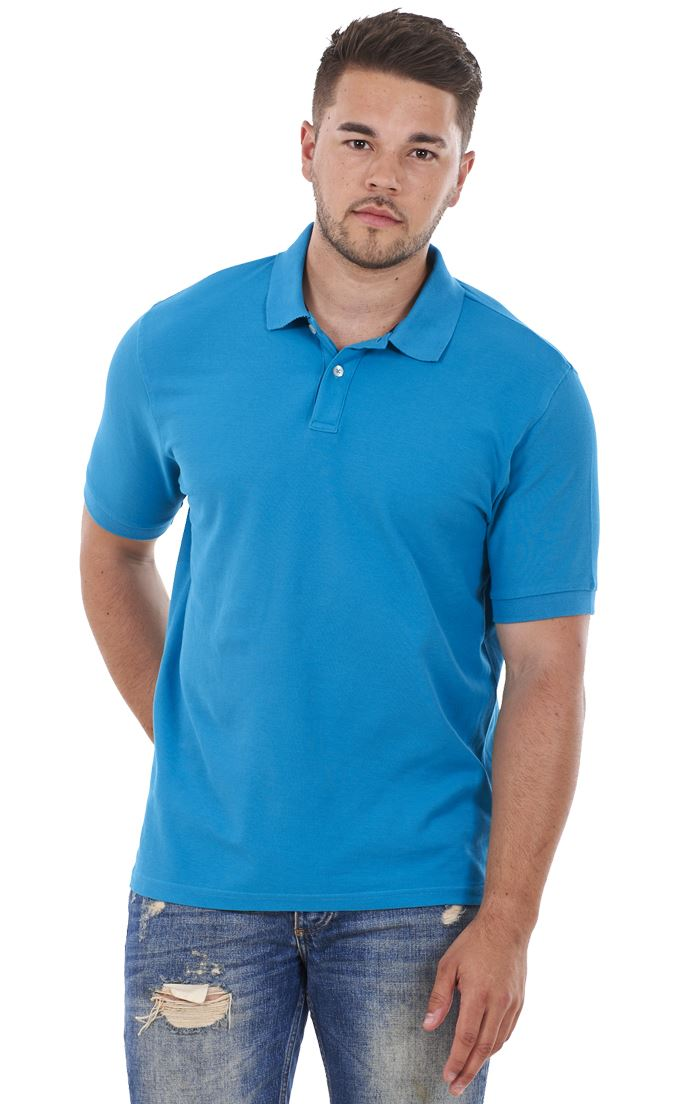 Men-039-s-ex-faMouS-store-Pure-Cotton-Plain-Top-Short-Sleeve-Polo-Tee-T-Shirt thumbnail 88