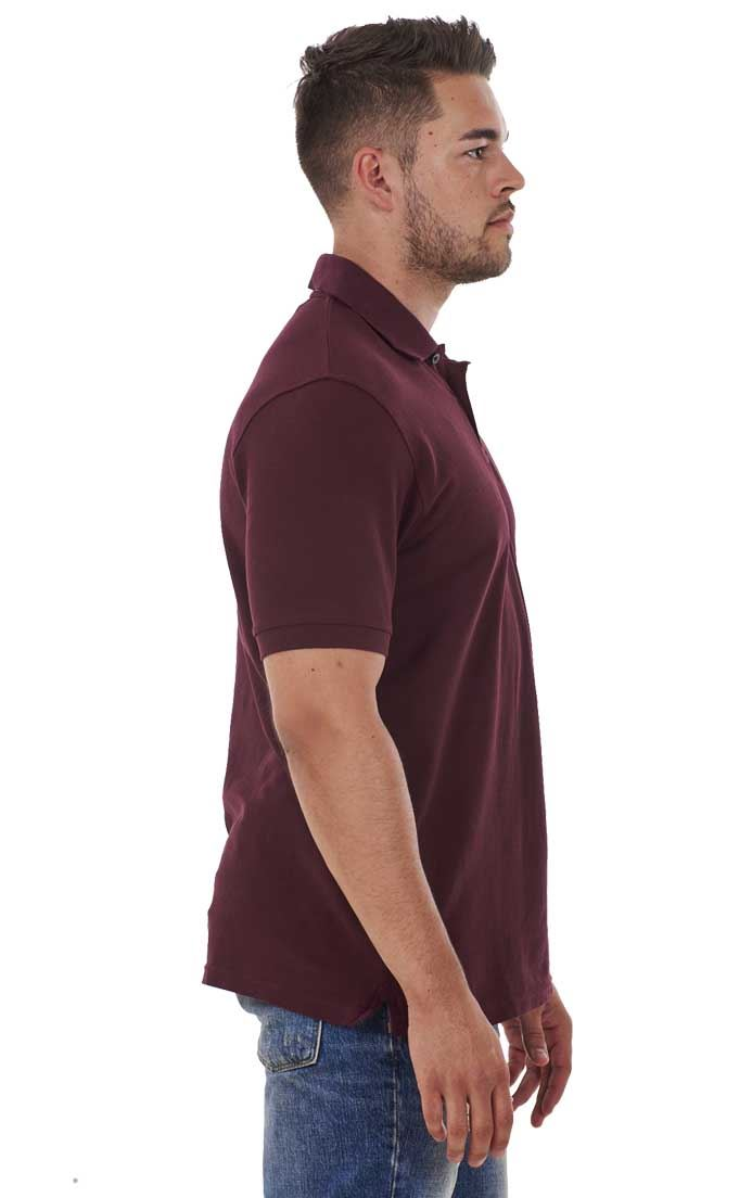 Men-039-s-ex-faMouS-store-Pure-Cotton-Plain-Top-Short-Sleeve-Polo-Tee-T-Shirt thumbnail 18