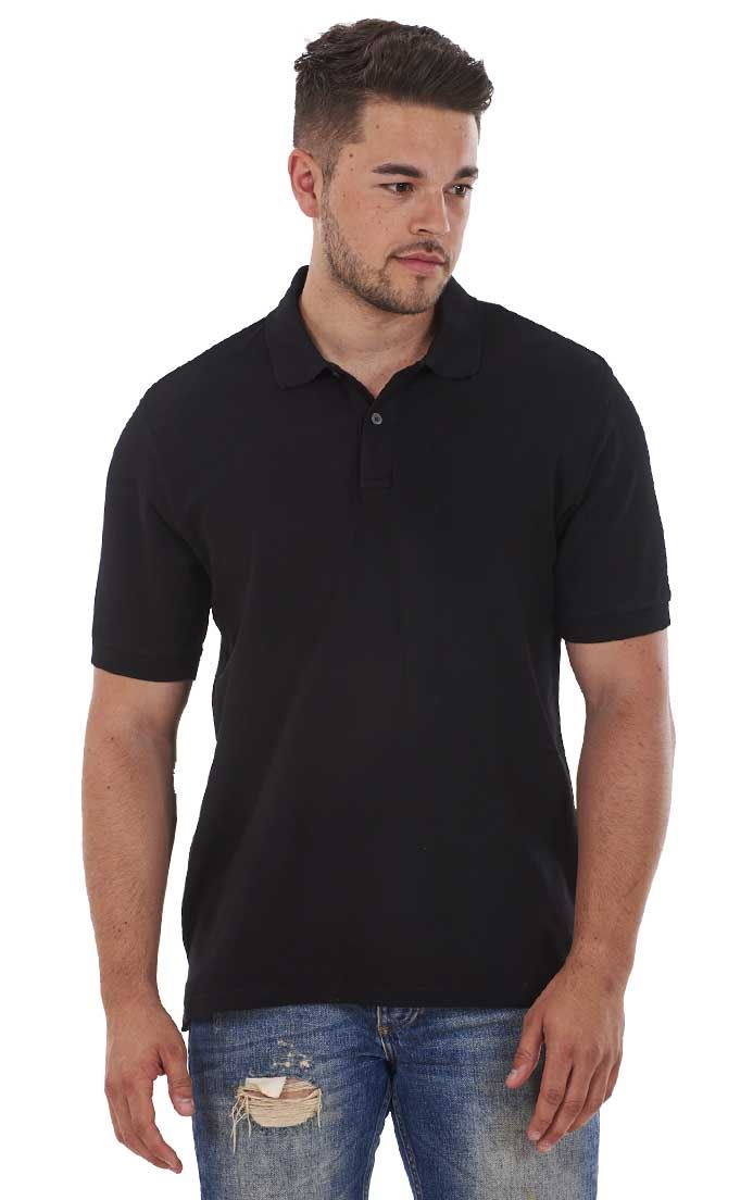 Men-039-s-ex-faMouS-store-Pure-Cotton-Plain-Top-Short-Sleeve-Polo-Tee-T-Shirt thumbnail 13