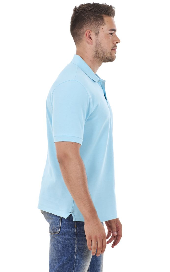 Men-039-s-ex-faMouS-store-Pure-Cotton-Plain-Top-Short-Sleeve-Polo-Tee-T-Shirt thumbnail 84