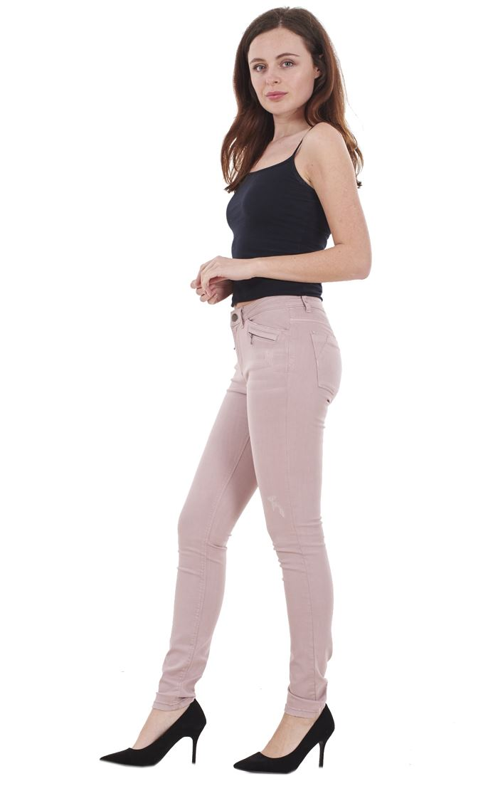 Ladies-Quality-Skinny-Jeans-Womens-Slim-Fit-Denim-Stretch miniatura 33