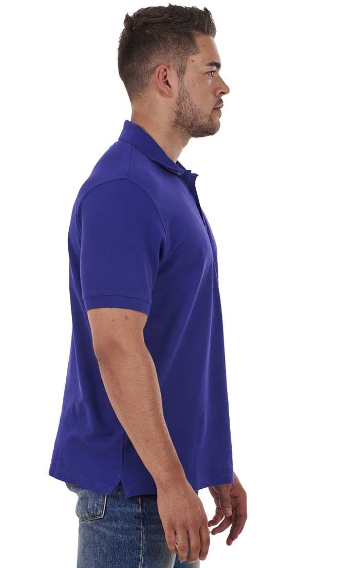 Men-039-s-ex-faMouS-store-Pure-Cotton-Plain-Top-Short-Sleeve-Polo-Tee-T-Shirt thumbnail 65
