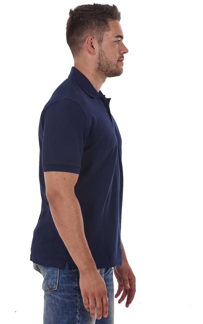 Men-039-s-ex-faMouS-store-Pure-Cotton-Plain-Top-Short-Sleeve-Polo-Tee-T-Shirt thumbnail 45