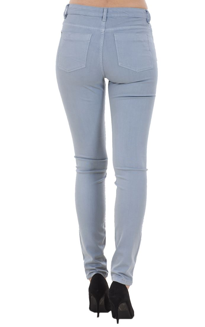 Ladies-Quality-Skinny-Jeans-Womens-Slim-Fit-Denim-Stretch miniatura 24