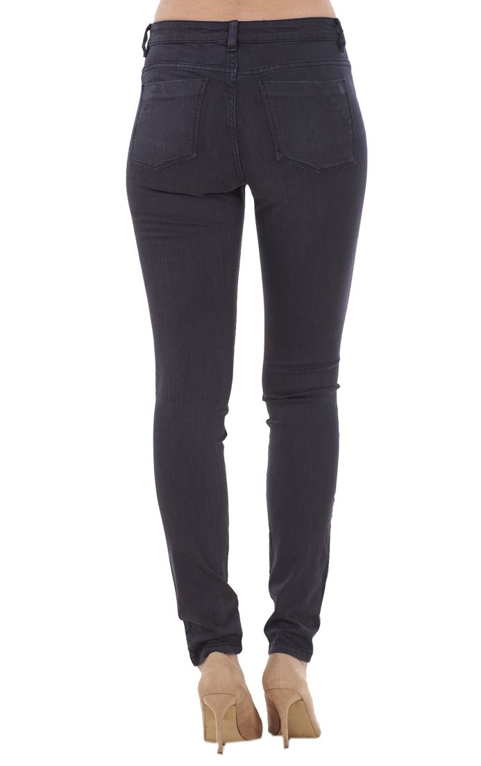 Ladies-Quality-Skinny-Jeans-Womens-Slim-Fit-Denim-Stretch miniatura 10