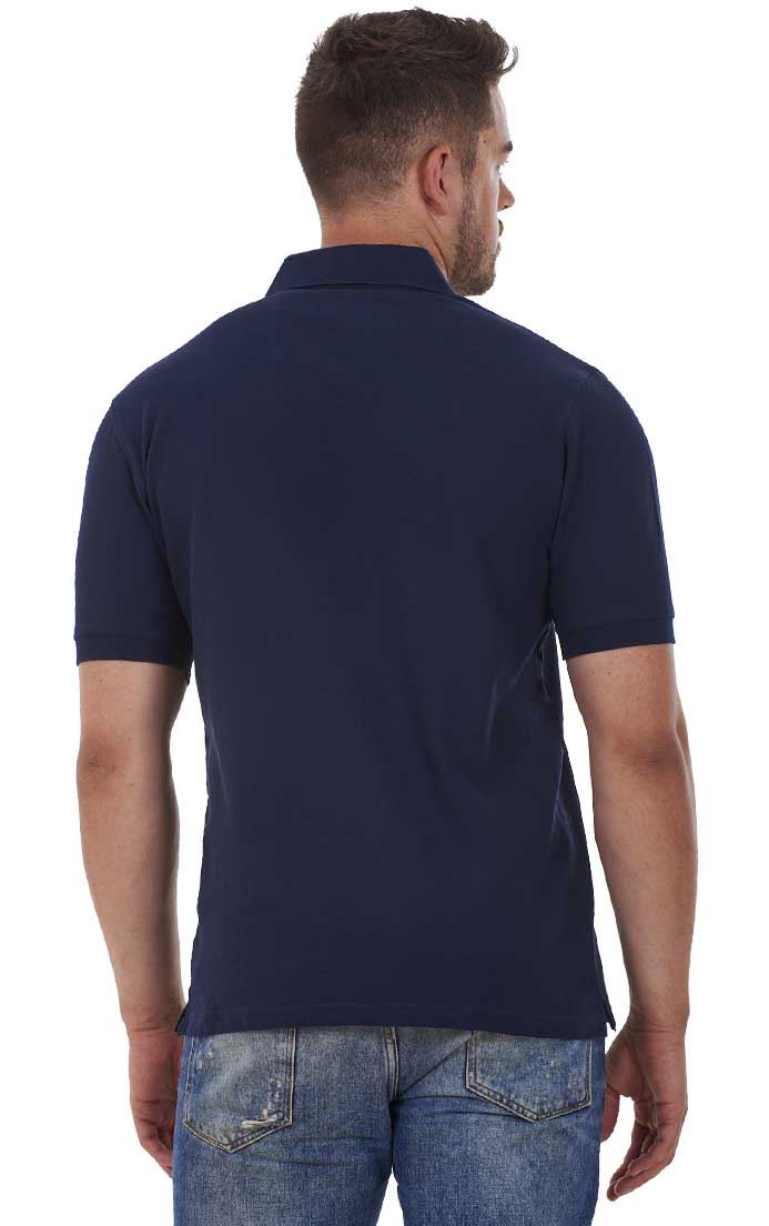 Men-039-s-ex-faMouS-store-Pure-Cotton-Plain-Top-Short-Sleeve-Polo-Tee-T-Shirt thumbnail 46