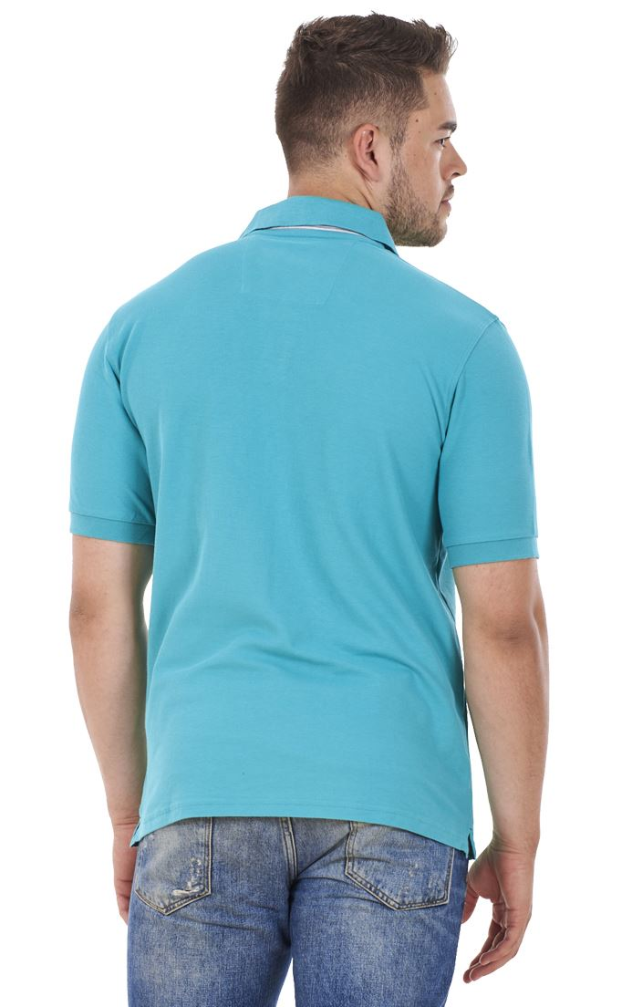 Men-039-s-ex-faMouS-store-Pure-Cotton-Plain-Top-Short-Sleeve-Polo-Tee-T-Shirt thumbnail 34