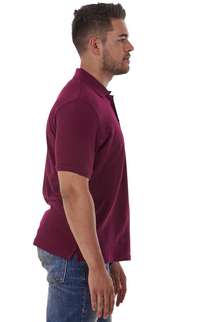 Men-039-s-ex-faMouS-store-Pure-Cotton-Plain-Top-Short-Sleeve-Polo-Tee-T-Shirt thumbnail 41