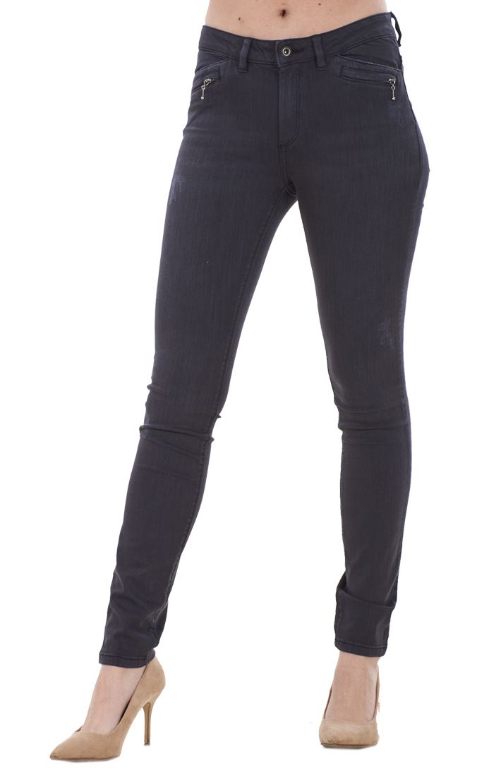 Ladies-Quality-Skinny-Jeans-Womens-Slim-Fit-Denim-Stretch miniatura 8