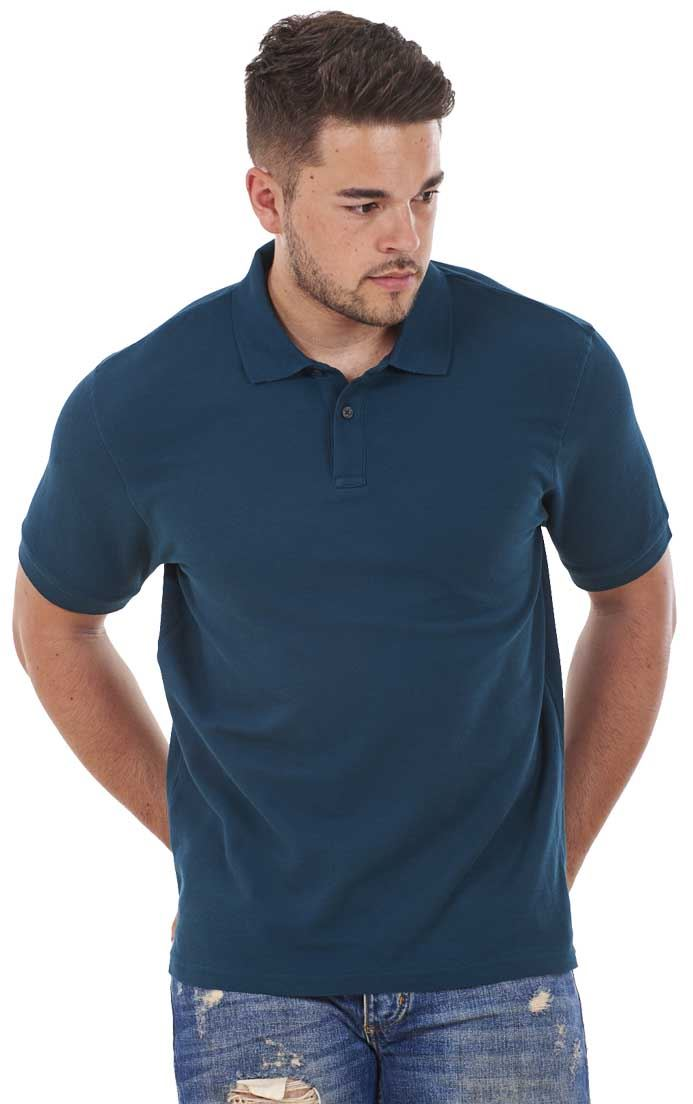 Men-039-s-ex-faMouS-store-Pure-Cotton-Plain-Top-Short-Sleeve-Polo-Tee-T-Shirt thumbnail 25