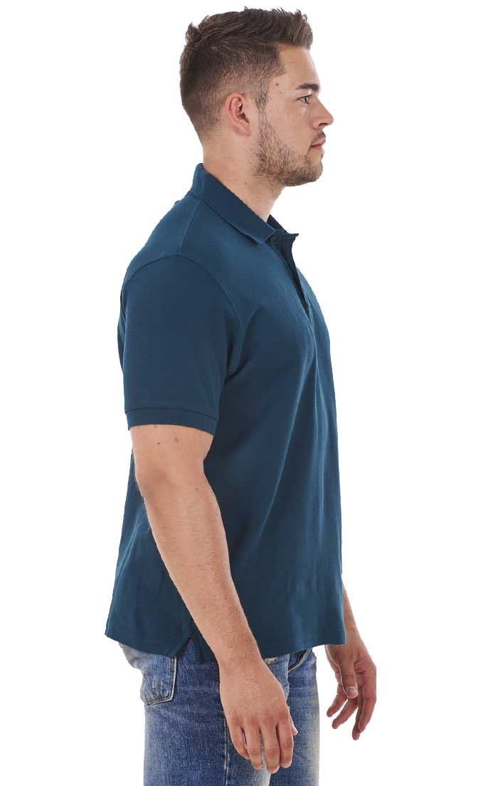 Men-039-s-ex-faMouS-store-Pure-Cotton-Plain-Top-Short-Sleeve-Polo-Tee-T-Shirt thumbnail 26