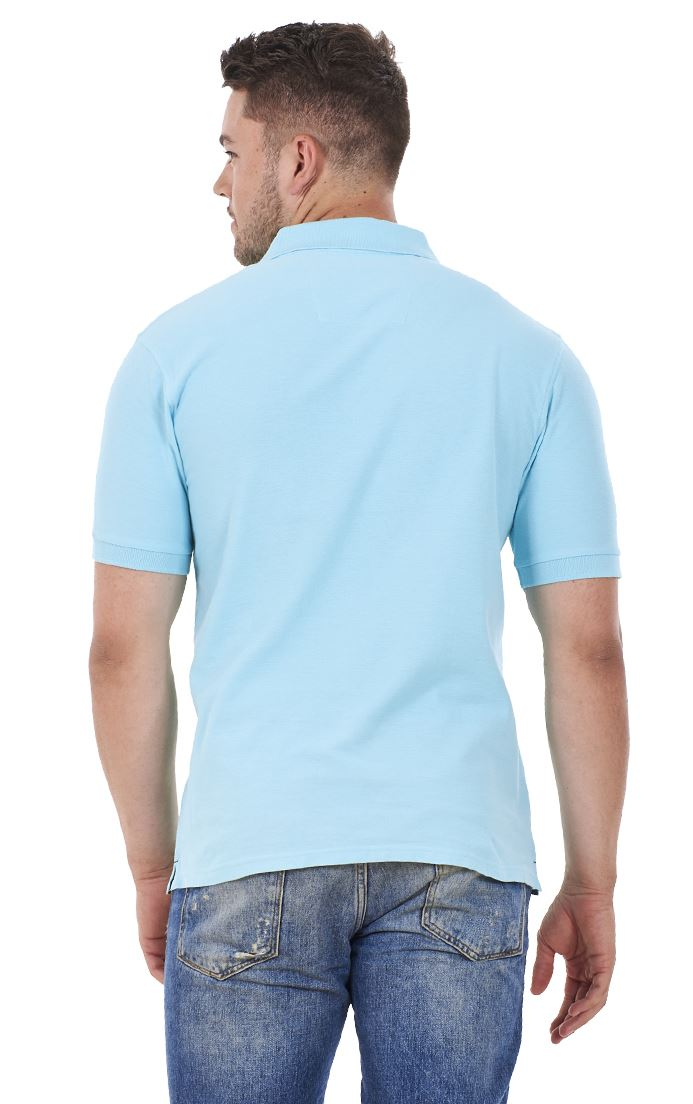 Men-039-s-ex-faMouS-store-Pure-Cotton-Plain-Top-Short-Sleeve-Polo-Tee-T-Shirt thumbnail 86