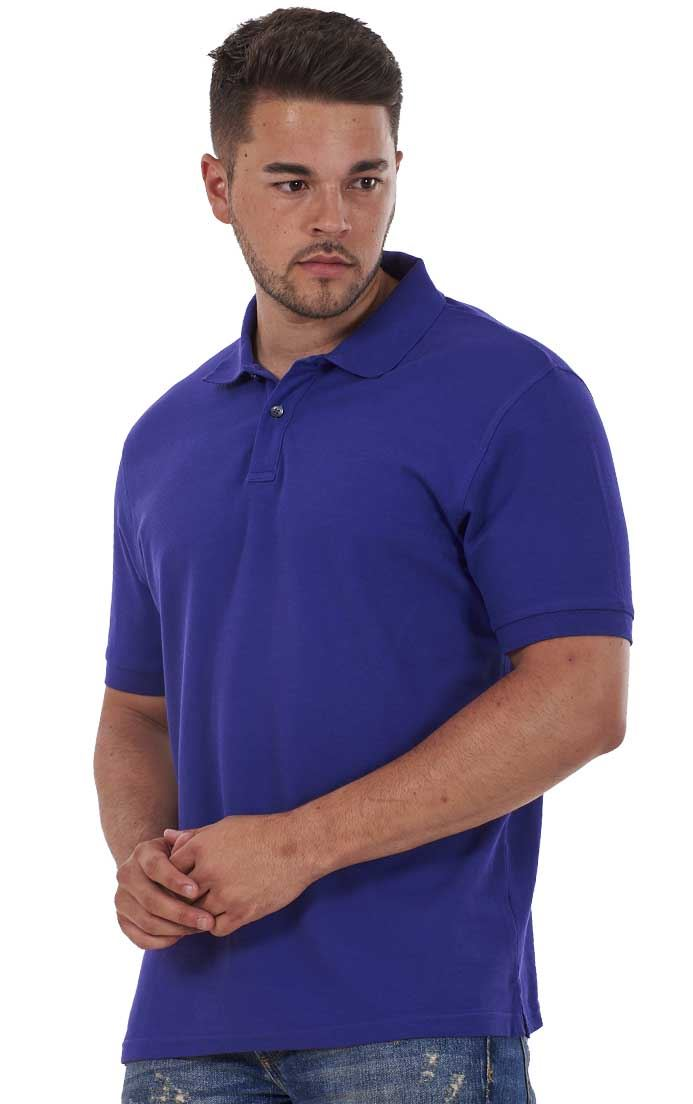 Men-039-s-ex-faMouS-store-Pure-Cotton-Plain-Top-Short-Sleeve-Polo-Tee-T-Shirt thumbnail 64