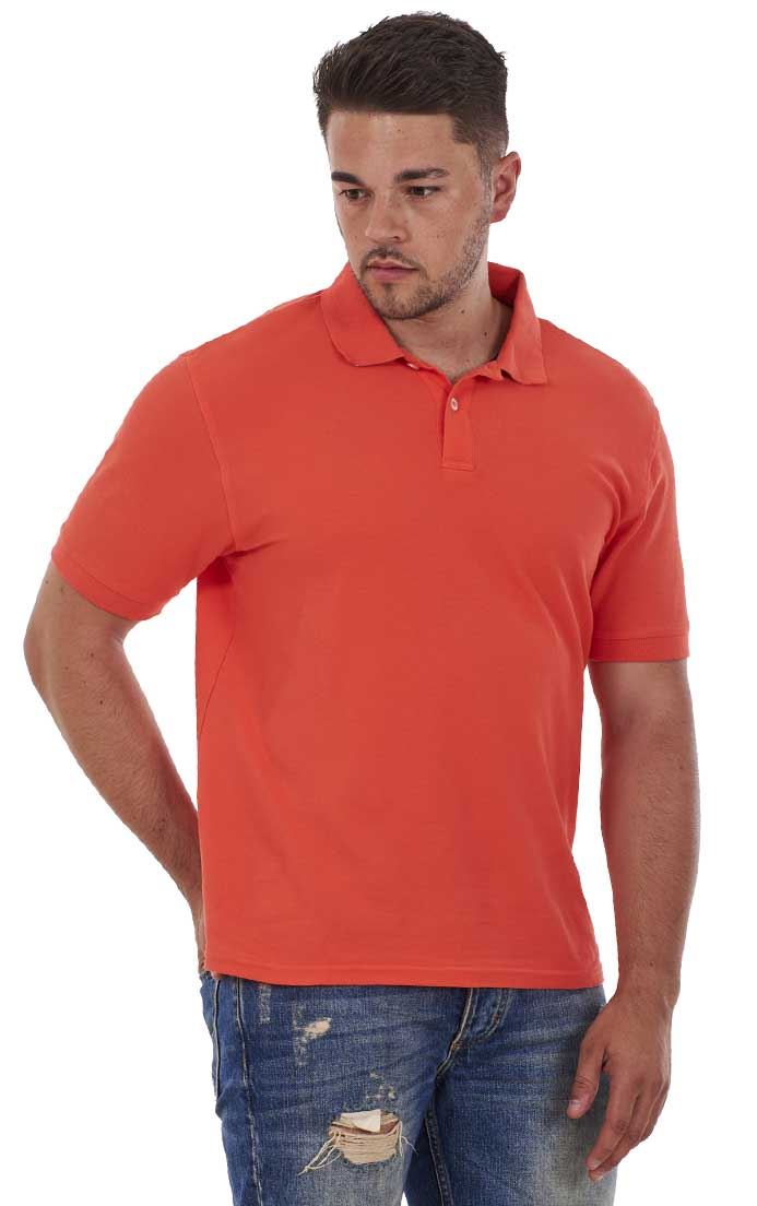 Men-039-s-ex-faMouS-store-Pure-Cotton-Plain-Top-Short-Sleeve-Polo-Tee-T-Shirt thumbnail 29