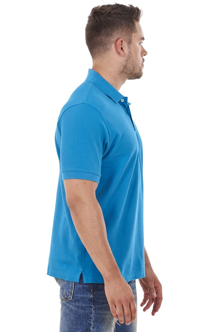 Men-039-s-ex-faMouS-store-Pure-Cotton-Plain-Top-Short-Sleeve-Polo-Tee-T-Shirt thumbnail 89