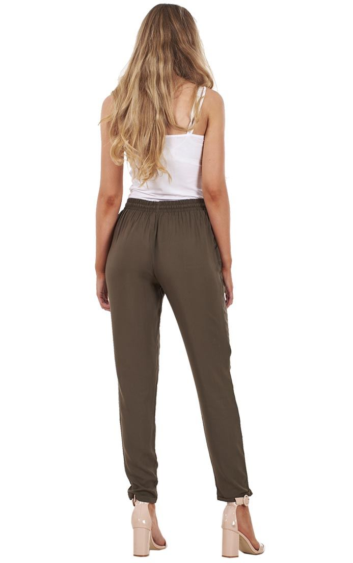 Ladies Summer Baggy Holiday Harem Loose Beach Trousers