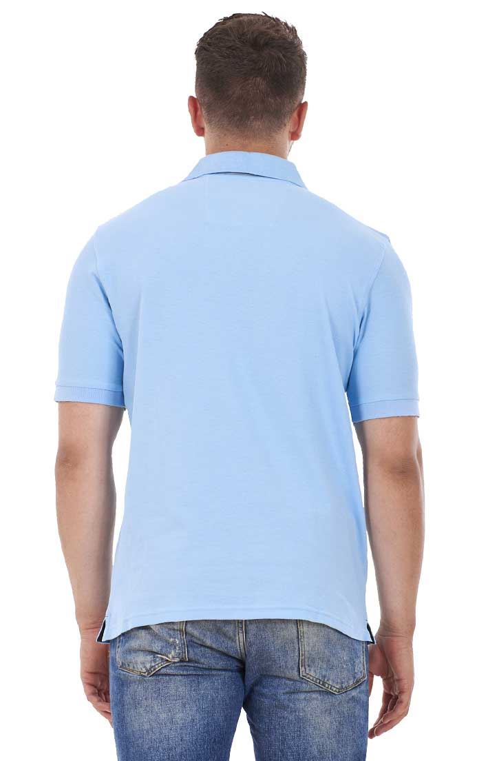 Men-039-s-ex-faMouS-store-Pure-Cotton-Plain-Top-Short-Sleeve-Polo-Tee-T-Shirt thumbnail 82
